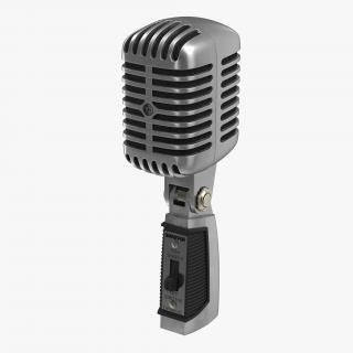 Classic Studio Microphone 2 3D