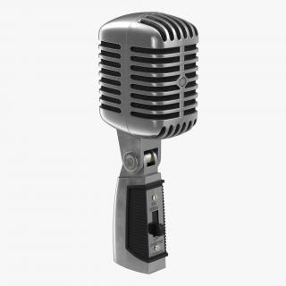 3D model Classic Studio Microphone 2 Generic