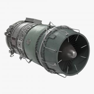 3D model Turbojet Engine