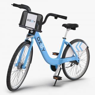 3D model Divvy Bike