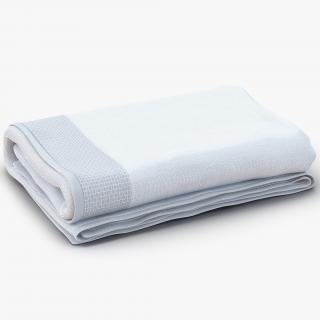 3D Towel White