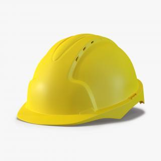 3D model Safety Helmet Yellow