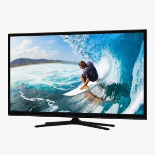 Generic Plasma TV 3D