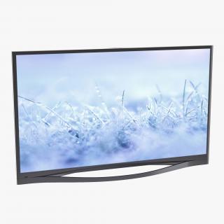 Generic Plasma TV 2 3D model