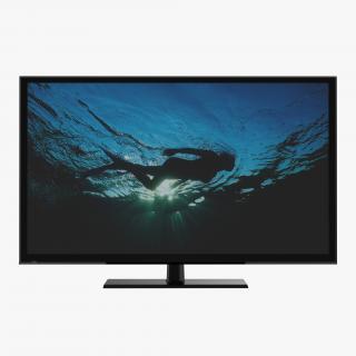 Generic Plasma TV 3 3D model