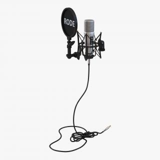 Studio Microphone Rode 3D