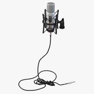 Studio Microphone Rode 2 3D model