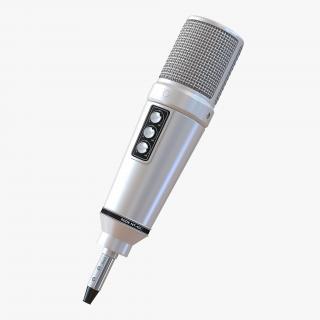 Studio Microphone Rode 4 3D model