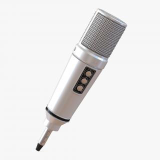 Studio Microphone 4 3D model