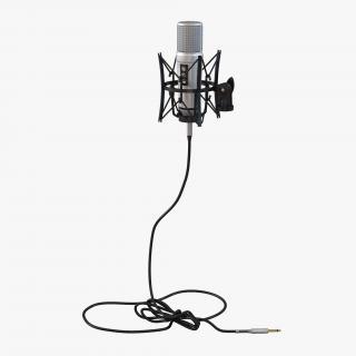 Studio Microphone 2 3D model