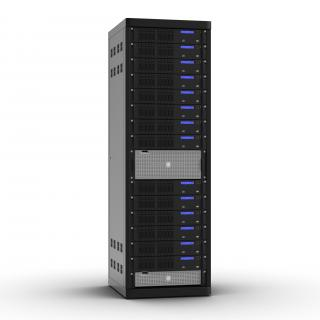 3D Generic Servers in Rack model