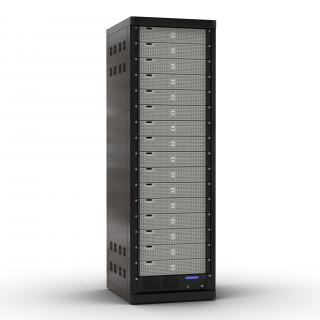 Dell Servers in Rack 2 3D