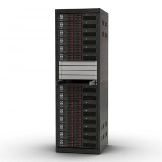 Servers in Rack 2 3D