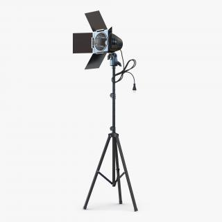 Barn Door Studio Light 3D