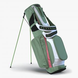 3D Golf Bag 4 Generic model
