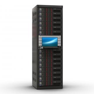 Servers in Rack 3 3D