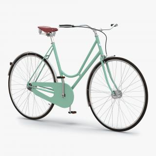 3D model City Bike Green