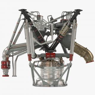RS 68 Rocket Engine 3D model