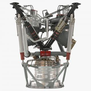 3D model Rocket Engine 2