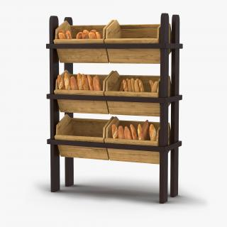 3D model Bakery Display Collection