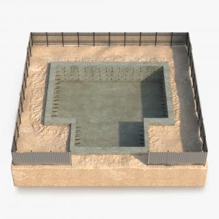 3D Construction Pit 2 model