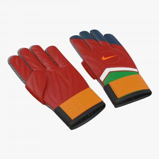 3D Goalie Gloves Nike model