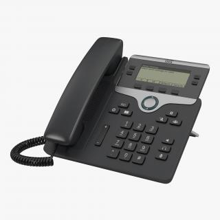 Cisco IP Phone 7841 3D model