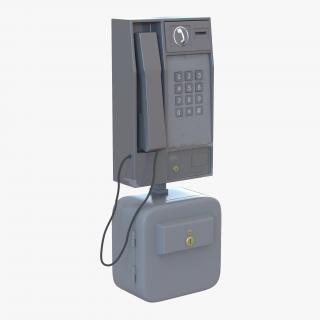 Pay Phone 3D model