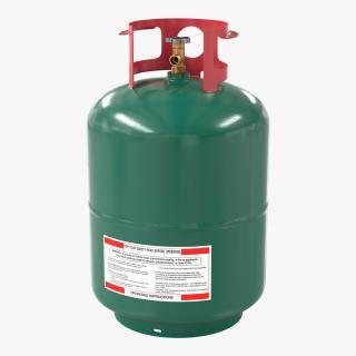 Gas Cylinder 3 3D model