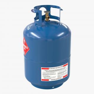 Gas Cylinder 2 3D model