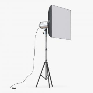 3D Professional Studio Lighting Softbox 2 model