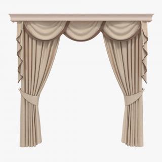 Curtain 6 3D model
