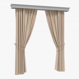 Curtain 7 3D model