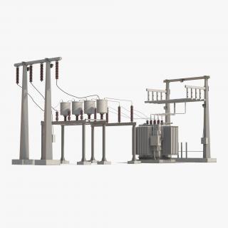 3D model Substation