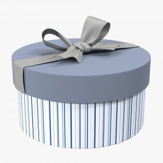 3D Giftbox 5 Silver