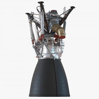 Rocket Engine RS 68 3D model