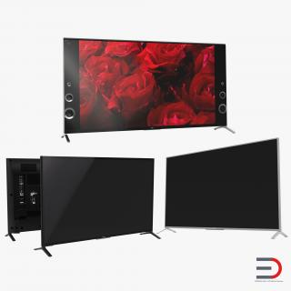 3D Sony TV Collection model
