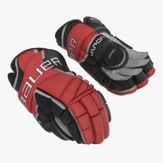 3D Hockey Gloves Bauer 2