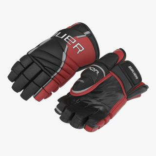 3D Hockey Gloves Bauer 3