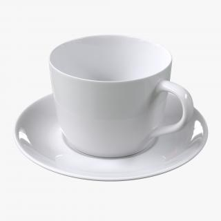 3D Empty Coffee Cup
