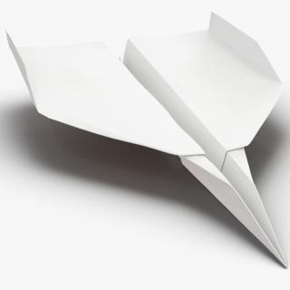 3D Paper Plane 7 model