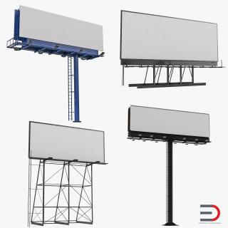 3D Billboards Collection
