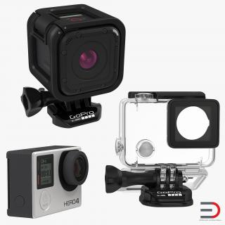 3D GoPro Collection