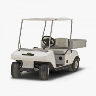 3D Golf Cart Rigged