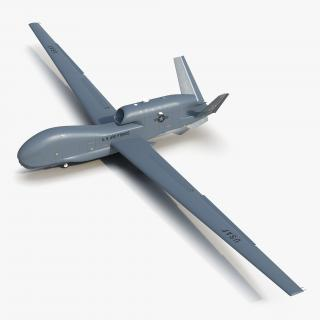 3D model RQ-4 Global Hawk UAV