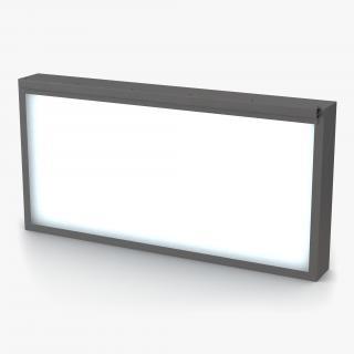 Medical XRay Light Box 3D