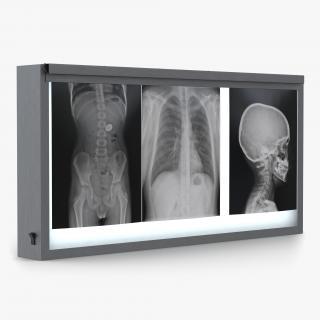 XRay Light Box 3D model