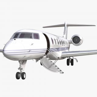 Gulfstream G650 Rigged 2 3D model