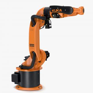 3D Kuka Robot KR-16 arc HW model