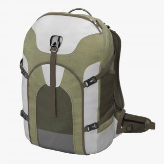 Fishing Backpack Generic 3D model